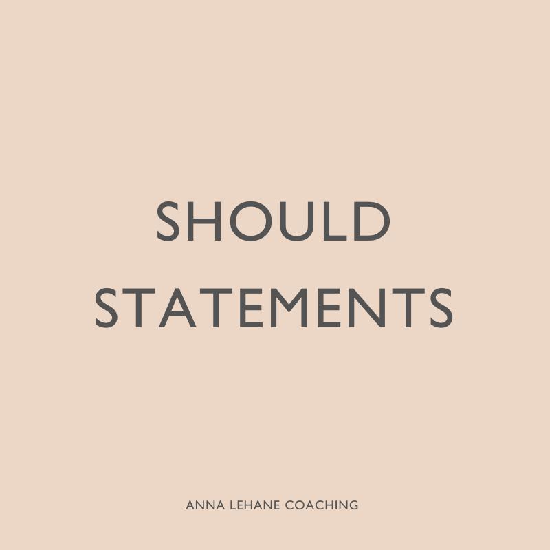 Should Statements